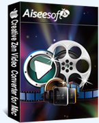 15% Aiseesoft Creative Zen Video Converter for Mac Coupon Discount