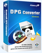 Exclusive Aiseesoft DPG Converter Coupons