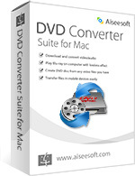 Aiseesoft DVD Converter Suite for Mac Coupon