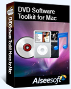 15% Aiseesoft DVD Software Toolkit for Mac Coupon