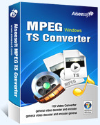 Aiseesoft MPEG TS Converter Coupon Code
