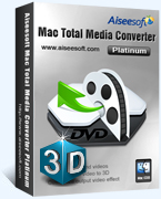 Aiseesoft Mac Total Media Converter Platinum Coupon – 40% OFF