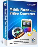 Aiseesoft Mobile Phone Video Converter – Exclusive 15% off Coupons