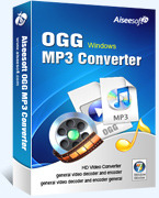 Exclusive Aiseesoft OGG MP3 Converter Coupon