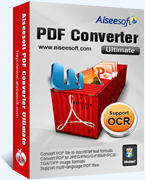 Aiseesoft PDF Converter Platinum Coupon Code