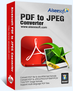 Aiseesoft PDF to JPEG Converter Coupon Code – 40%