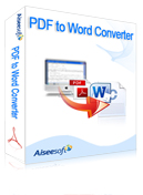 Aiseesoft PDF to Word Converter Coupon – 40%