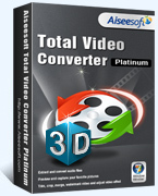 Aiseesoft Total Video Converter Platinum (Win/Mac) – Exclusive 15 Off Coupons