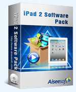 Aiseesoft iPad 2 Software Pack Coupon 15% OFF
