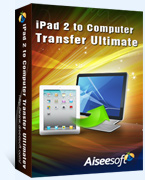 Aiseesoft iPad 2 to Computer Transfer Ultimate Coupon Code – 40%
