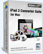 Aiseesoft Studio – Aiseesoft iPad 3 Converter Suite for Mac Coupon Deal