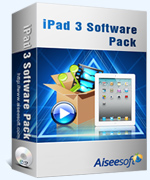 Aiseesoft iPad 3 Software Pack Coupon – 40% Off