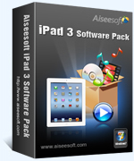 Aiseesoft Studio Aiseesoft iPad 3 Software Pack Coupon