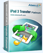 Aiseesoft iPad 3 Transfer Platinum Coupon – 40%