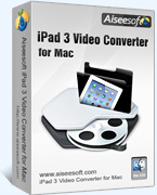 Aiseesoft Studio Aiseesoft iPad 3 Video Converter for Mac Coupon Sale