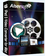 40% Off Aiseesoft iPad 3 Video Converter for Mac Coupon