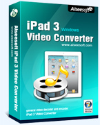 40% Aiseesoft iPad 3 Video Converter Coupon