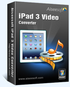 Aiseesoft iPad 3 Video Converter – Exclusive 15% Off Discount