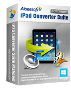 15% off – Aiseesoft iPad Converter Suite Platinum
