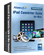 Aiseesoft iPad Converter Suite for Mac Coupon Code – 40% OFF