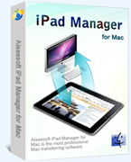 Aiseesoft iPad Manager for Mac Coupons 15% Off