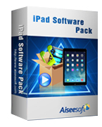 Aiseesoft iPad Software Pack Coupon Code – 40%