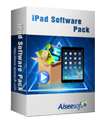 Aiseesoft iPad Software Pack – Exclusive 15% Coupon