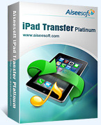 Aiseesoft iPad Transfer Platinum Coupon Code 15% OFF