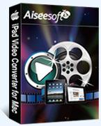 Aiseesoft iPad Video Converter for Mac Coupon Code 15% Off
