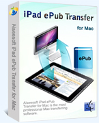 Instant 15% Aiseesoft iPad ePub Transfer for Mac Coupon