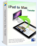 Instant 15% Aiseesoft iPad to Mac Transfer Sale Coupon