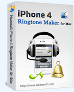 Aiseesoft iPhone 4 Ringtone Maker for Mac – Exclusive 15% Off Coupon