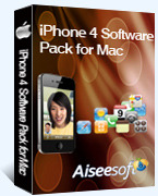 Exclusive Aiseesoft iPhone 4 Software Pack for Mac Coupon Code