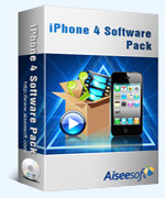 Aiseesoft iPhone 4 Software Pack – Exclusive 15 Off Coupon