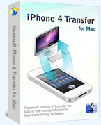 Aiseesoft iPhone 4 Transfer for Mac – Exclusive 15% off Coupon