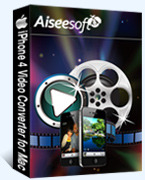 Aiseesoft iPhone 4 Video Converter for Mac – 15% Sale