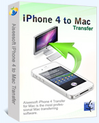 Aiseesoft iPhone 4 to Mac Transfer Coupon