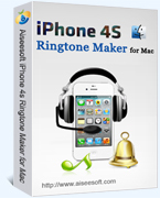 Aiseesoft iPhone 4S Ringtone Maker for Mac Coupon Code 15% OFF