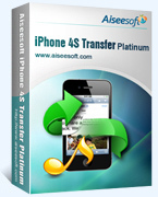 Exclusive Aiseesoft iPhone 4S Transfer Platinum Coupon Code