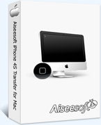 40% OFF Aiseesoft iPhone 4S Transfer for Mac Coupon