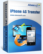 Aiseesoft iPhone 4S Transfer Coupon 15% Off