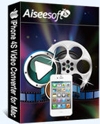 15 Percent – Aiseesoft iPhone 4S Video Converter for Mac