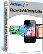 Aiseesoft iPhone 4S ePub Transfer for Mac Coupon Code – 40% OFF