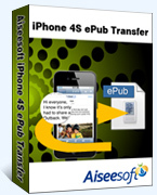 Aiseesoft iPhone 4S ePub Transfer Coupons