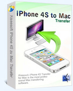 Aiseesoft iPhone 4S to Mac Transfer Coupon – 40%