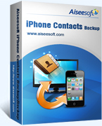 Aiseesoft iPhone Contacts Backup Coupon Code – 40%