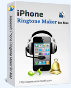 Aiseesoft iPhone Ringtone Maker for Mac Coupon