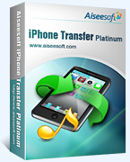 Aiseesoft iPhone Transfer Platinum Coupon – 40%