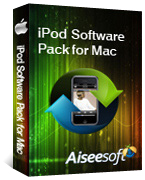 Aiseesoft iPod Software Pack for Mac Coupon – 40%