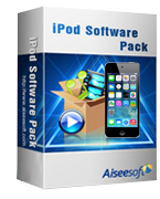 Aiseesoft iPod Software Pack Coupon – 40%